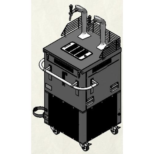 "Beer coolers - ""V-200E"" quick dispense equipment"