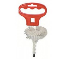Brushes for dispense heads A, G